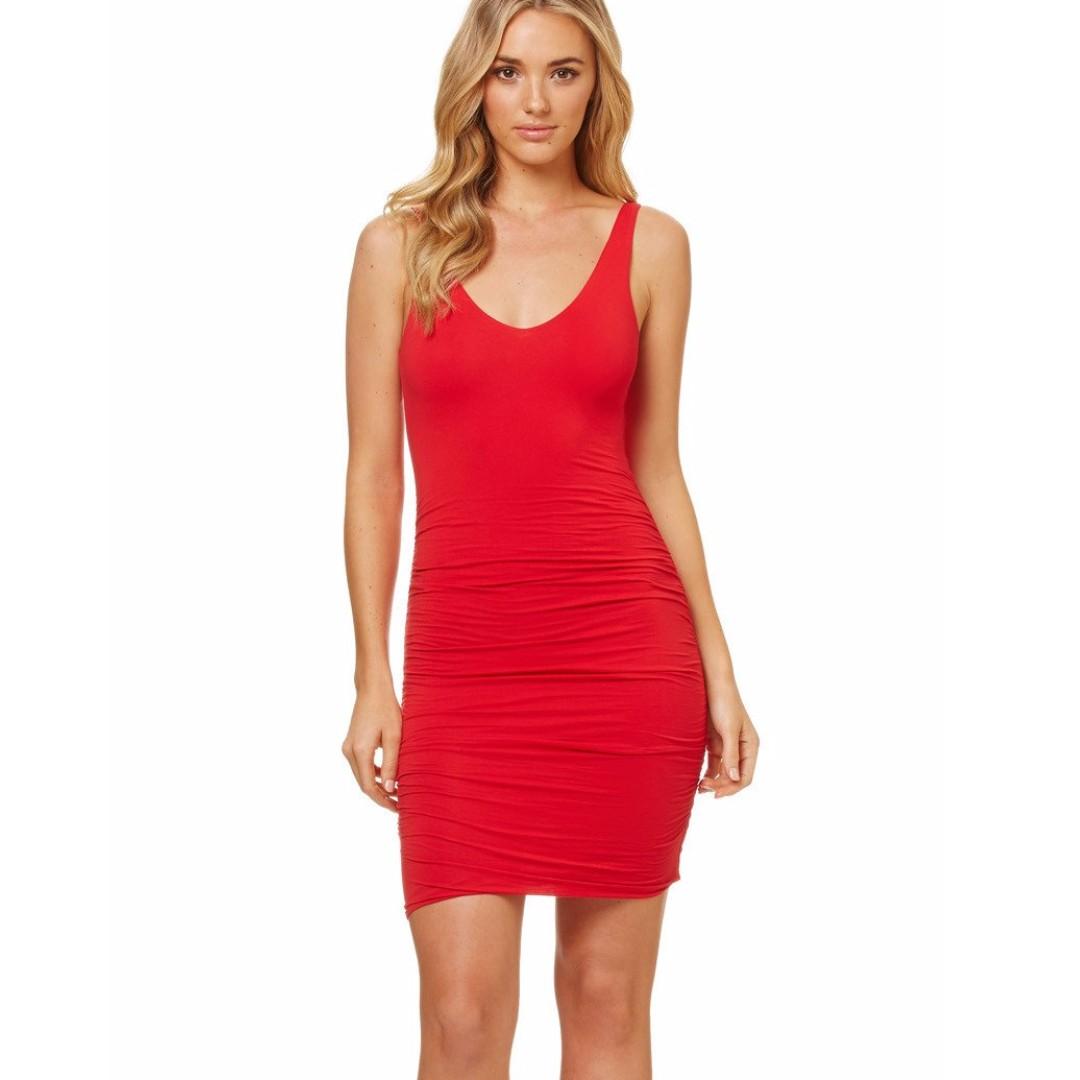 KOOKAI Georgie Dress - Red