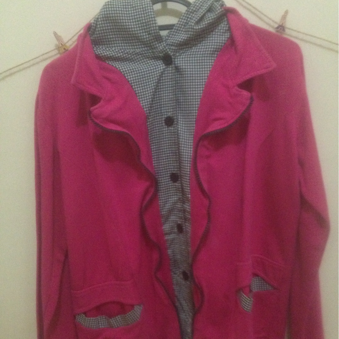 Korean Pink Fanta Jacket