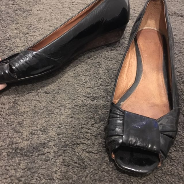 Leather Top Shop Shoes