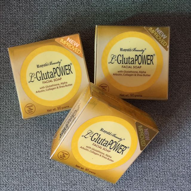 L-GlutaPOWER Facial Soap