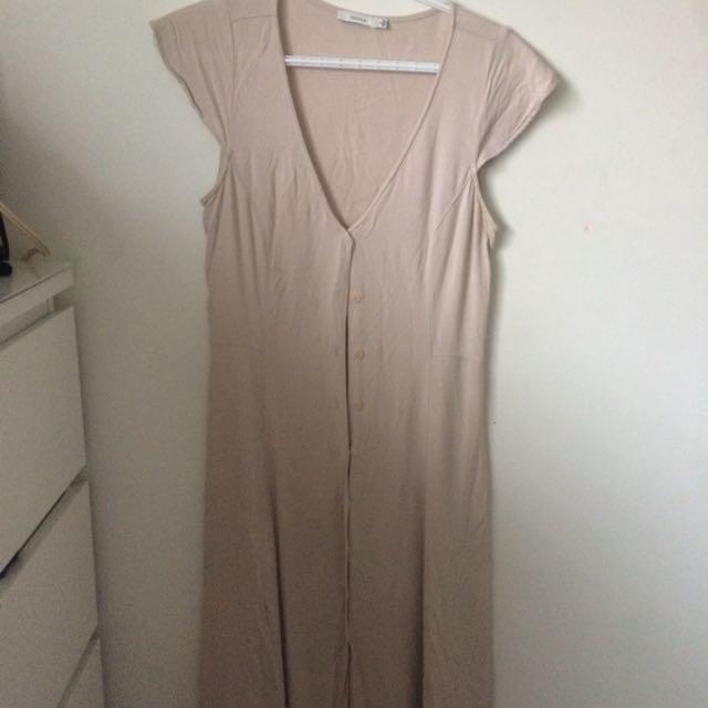 Long Button Up Dress