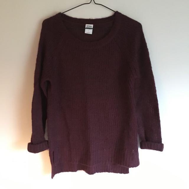 Longline Hi Low Vero Moda Sweater