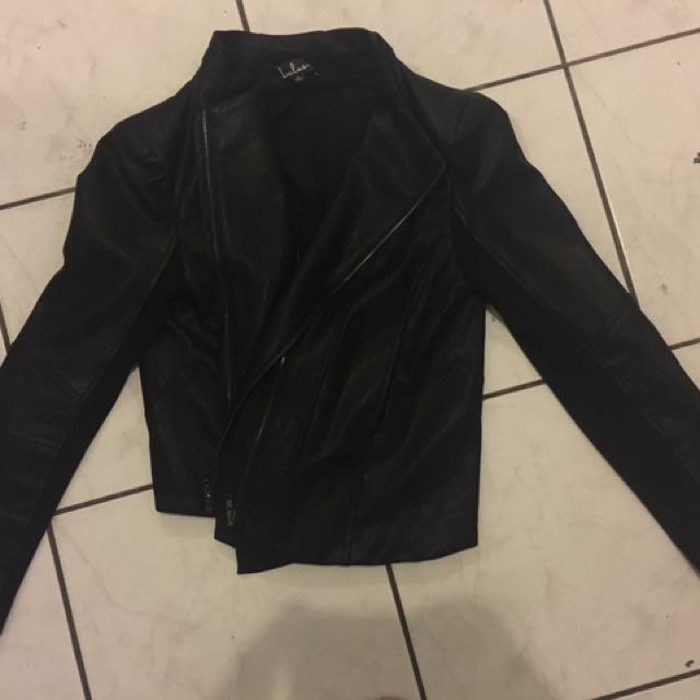 Lulus Vegan Leather Jacket