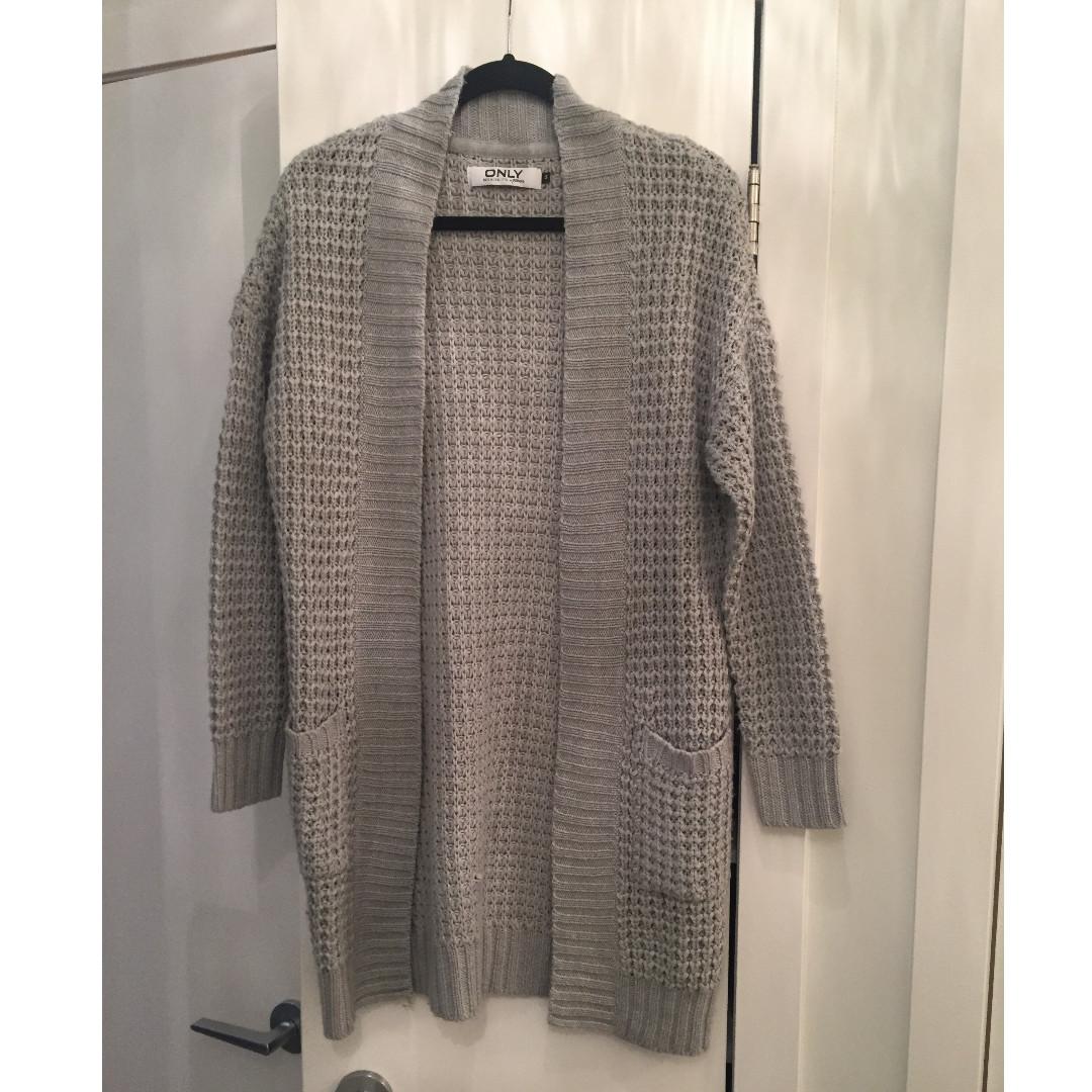 Mendocino Grey Cardigan - Size S