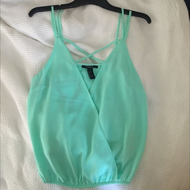 MINT GREEN TOWN TOP