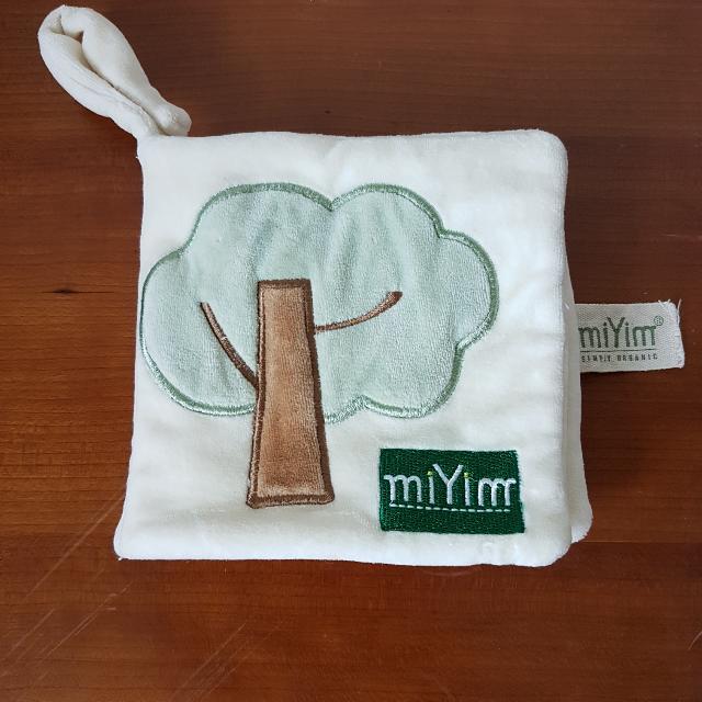 美國miYim有機棉布書