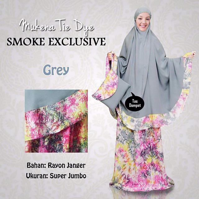 Mukena Smoke Exclusive