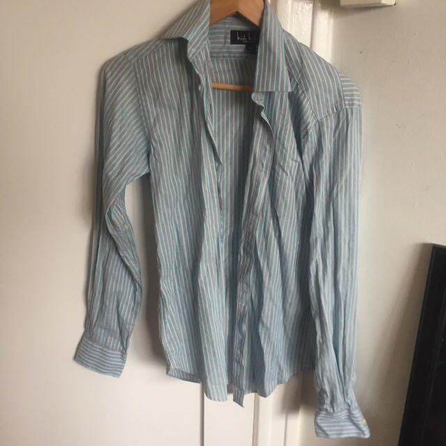 Nicole Millar Men's Striped Shirt