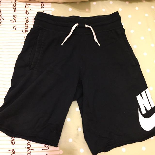 Nike黑色棉褲