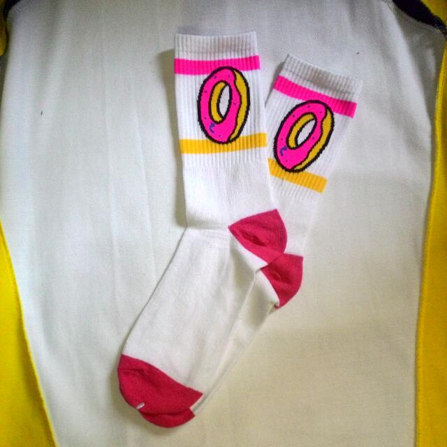 ODD FUTURE OFWGKTA Crew Socks White