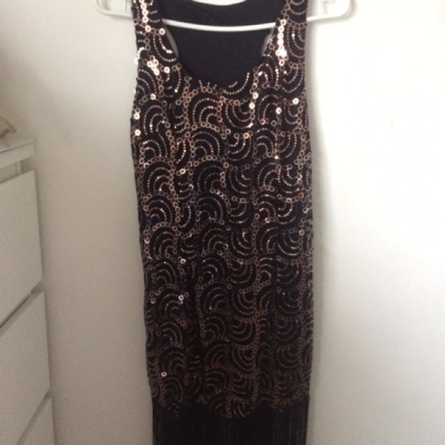 ONE-OF-A-KIND Flapper Dress