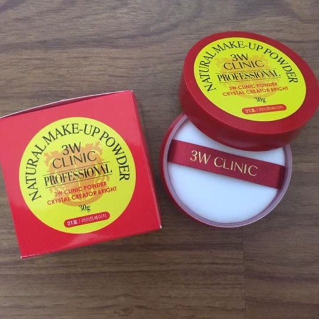 Original 3W Clinic Professional Natural Make-up Powder 30g