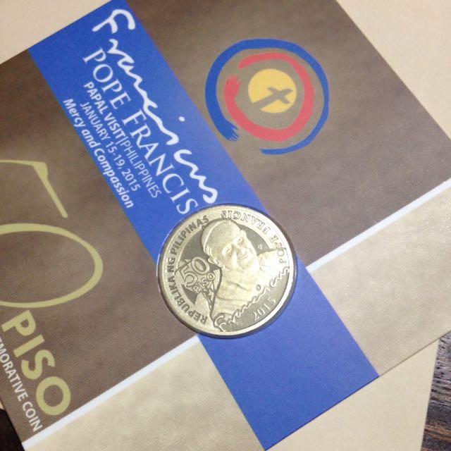 Pope Francis 50 Pesos