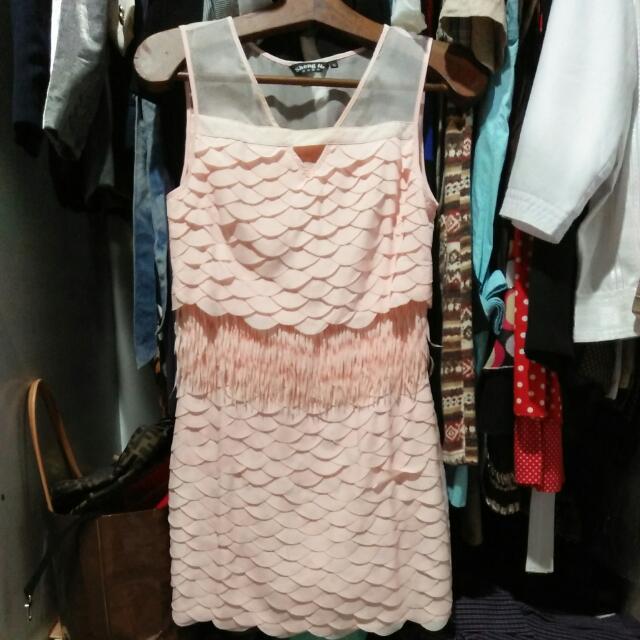 Preloved BKK Fringed Dresses