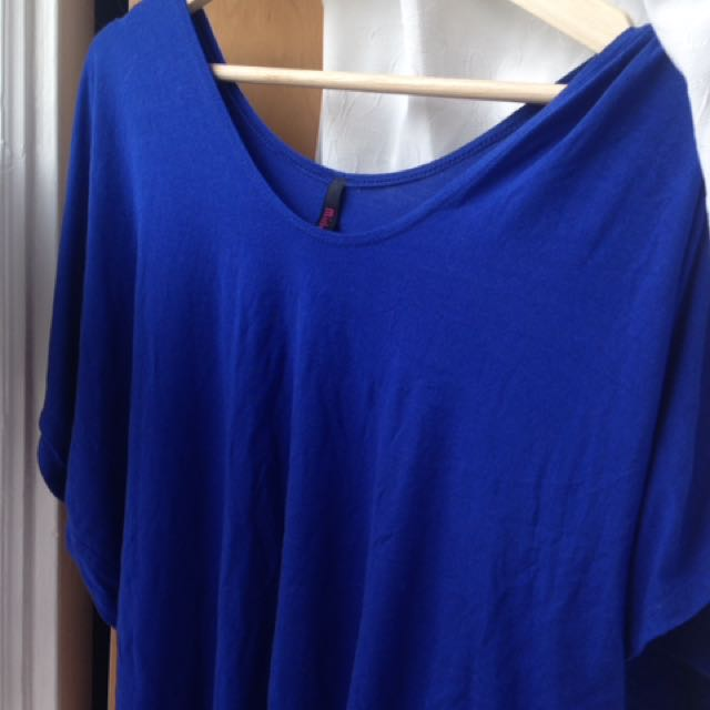 Pretty Blue Fanned Out Shirt