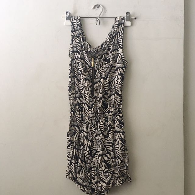 Printed Romper From Thailand