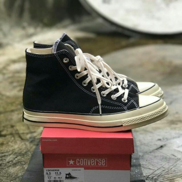 402a7f349f16 PROMO !!! Original indonesia Converse Chuck Taylor 70s Hight BLACK ...