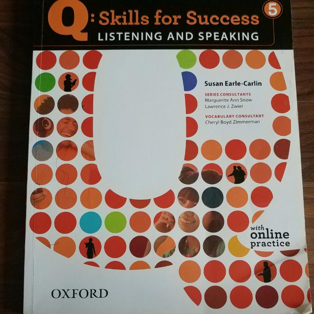Q: Skills for Success 5 Listening And Speaking  Susan Early-Carlin With Online Practice Oxford