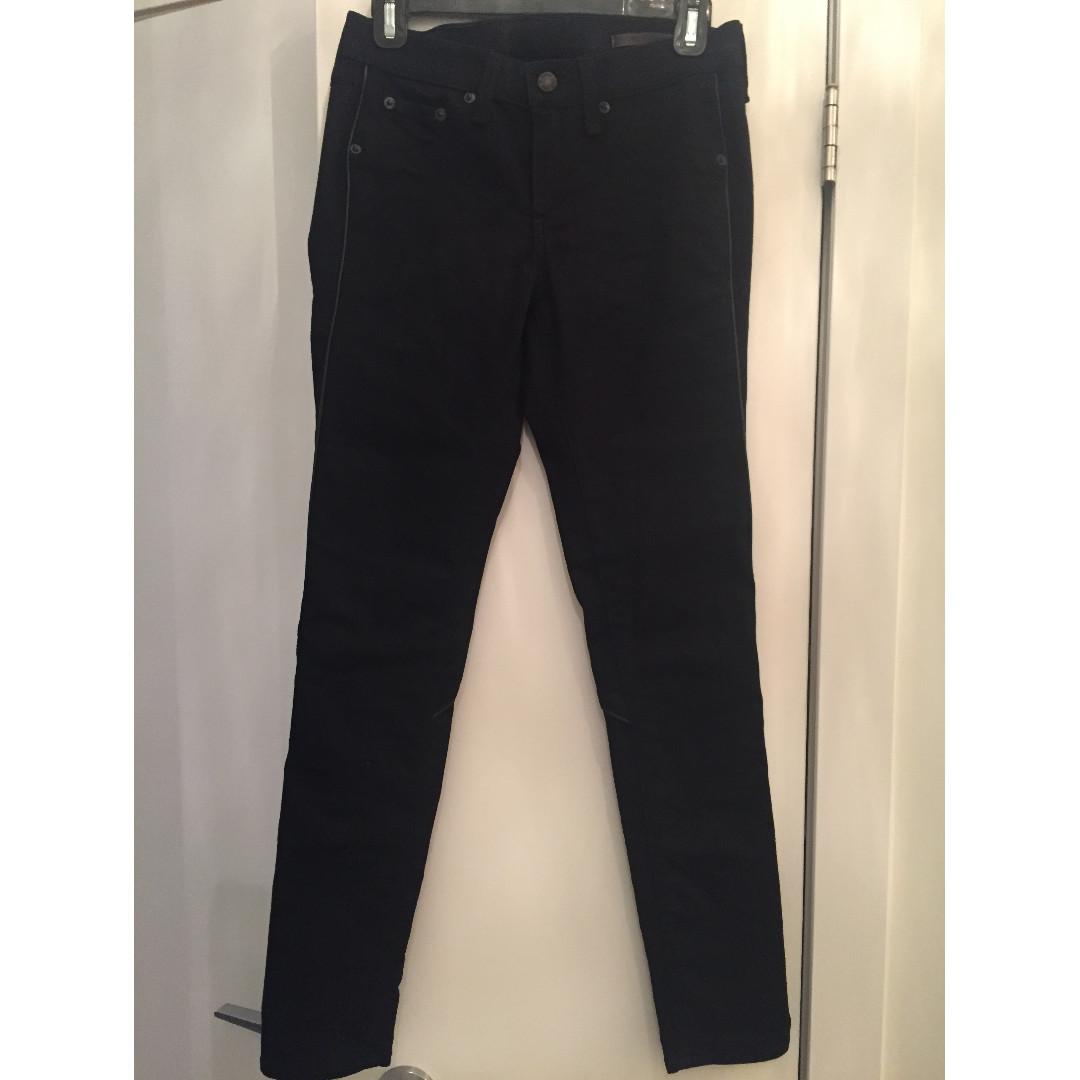 Rag & Bone Black Jeans - Size 26