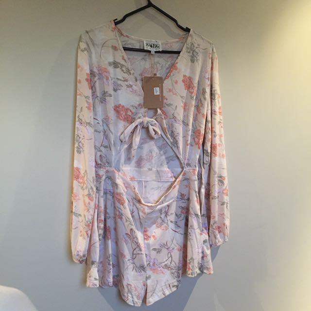 BRAND NEW Sabo Skirt Playsuit