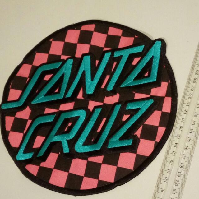 Santa Cruz Sew / Glue On Patch Large