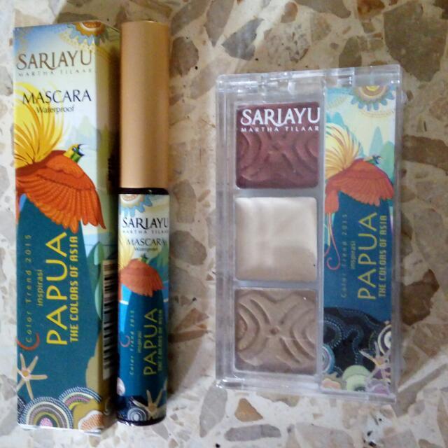 Sariayu Mascara & Eyeshadow Seri PAPUA