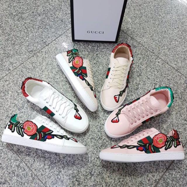 Sepatu Sneakers Gucci Semi Premium