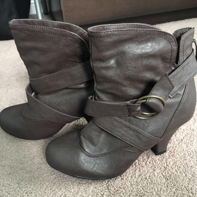 Slip In Booties
