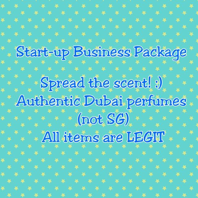 Start-up Business - Perfume