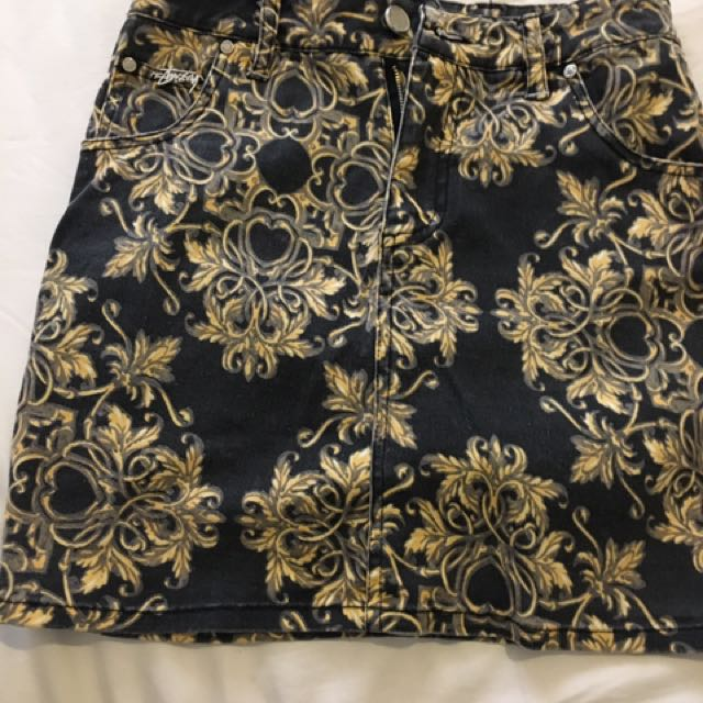 Stussy Denim Skirt