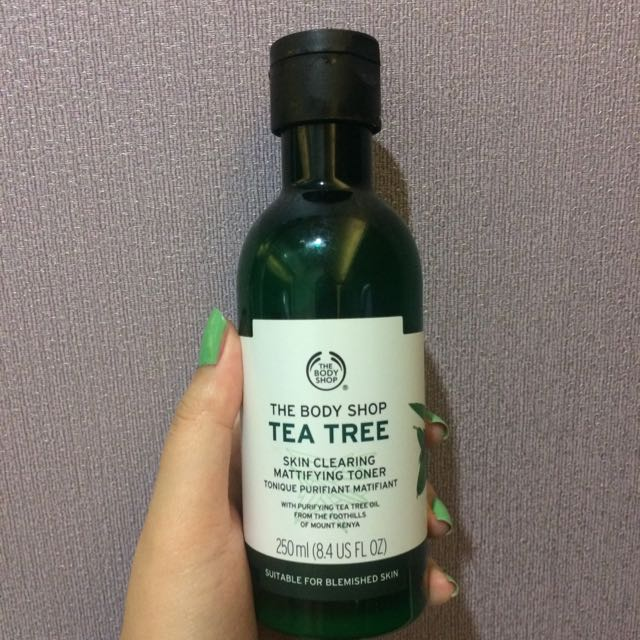 The Body Shop Tea Tree Clearing Toner 250 ml FREE ONGKIR