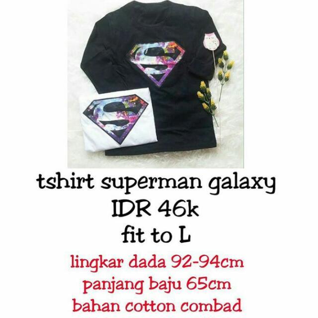 Tshirt Superman Galaxy