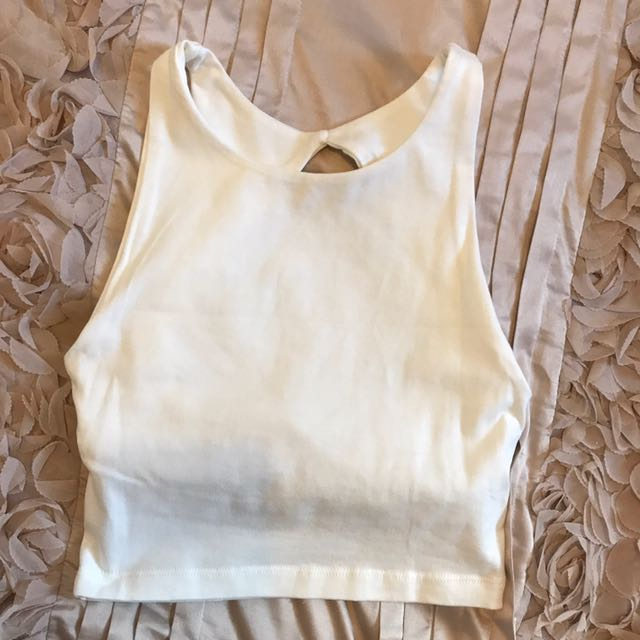 Vanilla Crop Kookai Top