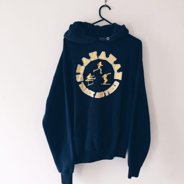 Vintage Athletic Sweatshirt Hoodie