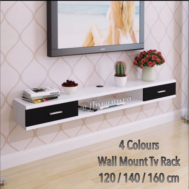 Best Selling Wall Mounted Tv Console Rack