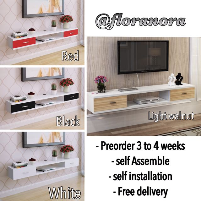 Best Selling Wall Mounted Tv Console Rack, Furniture
