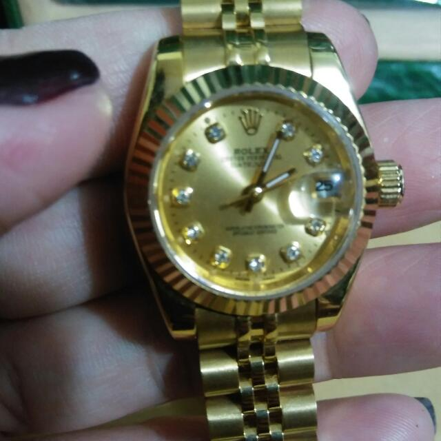 Watch Gold Plated