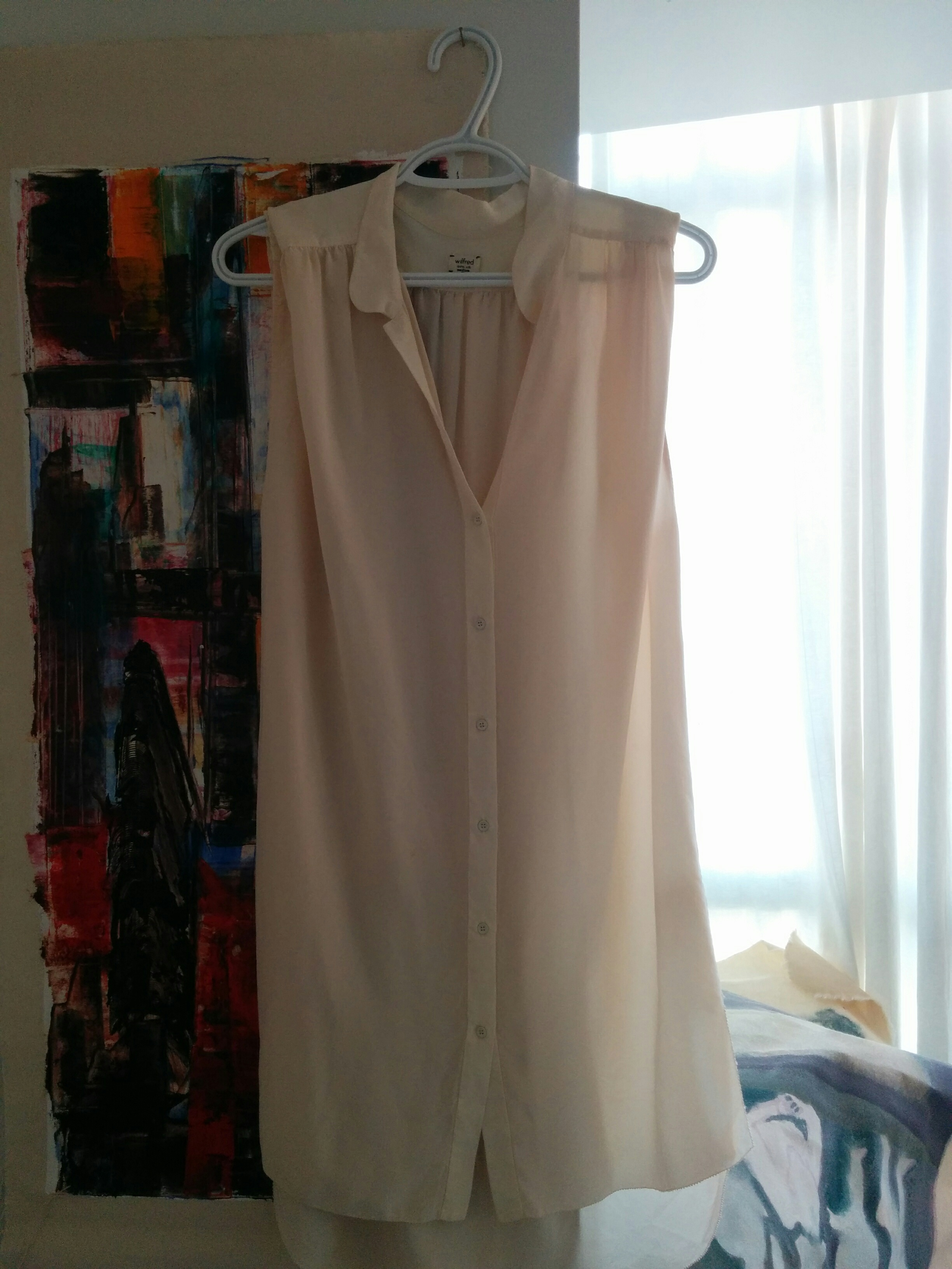 Wilfred 100% Silk Tunic