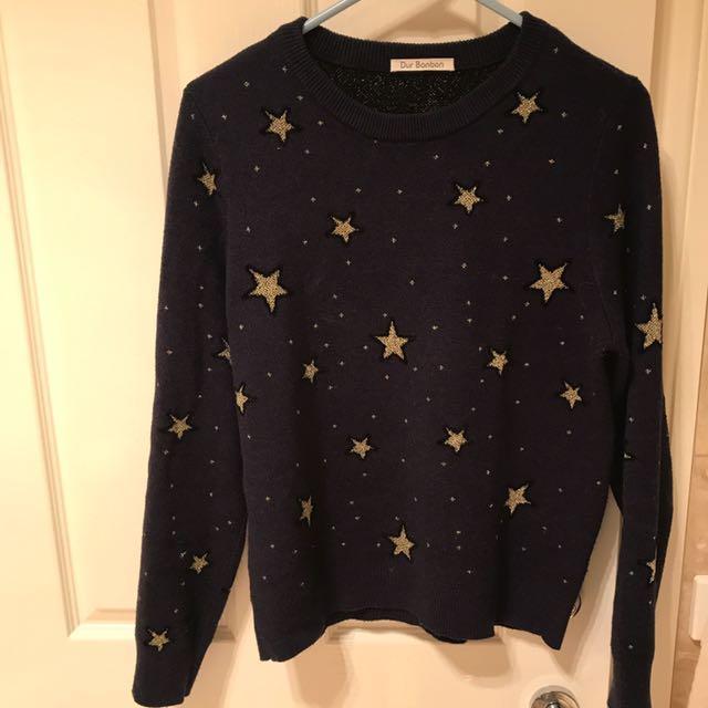 women winter sweater jumper top knit wool