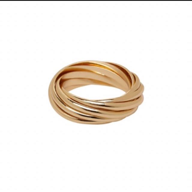 Womens Gold Kookai (Pippa Ring)