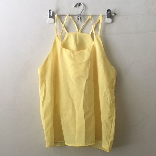 Yellow Reversible Top