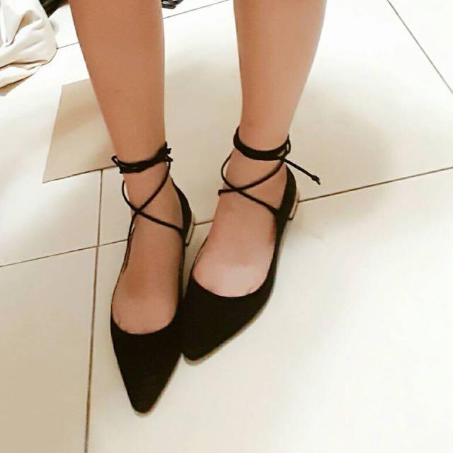 Zara綁帶鞋(保留)