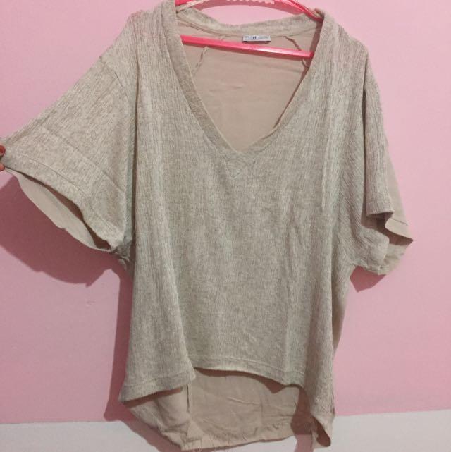 Zara Knitted Tshirt