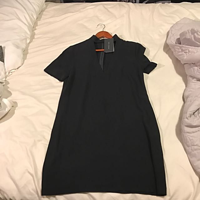 ZARA TSHIRT CHOKER DRESS