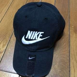 Nike 老帽 黑色 可調式