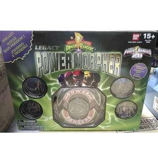 BANDAI 美版 恐龍戰隊 20周年 1:1 DX POWER RANGER LEGACY Morpher 變身器
