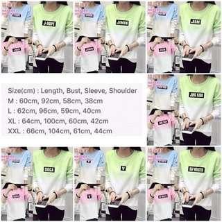 Bts Duo Tone Sweatshirt