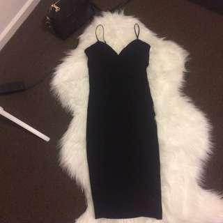 Black Tight/ Midi Skinny Dress