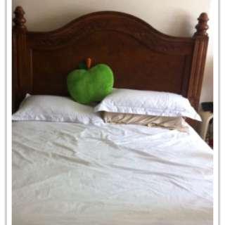 歐風 歐式 法式 古典 實木床架 標準雙人床