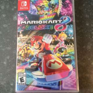 Mario Cart 8 ***Deluxe For Nintendo Switch